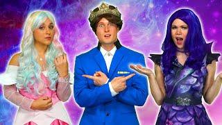 SHOULD DESCENDANTS 3 MAL OR AUDREY MARRY BEN? (Queen Of Mean Part 2) Totally TV Parody