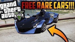 *FREE* GTA 5 - STORY MODE RARE CAR SPAWN LOCATIONS !!!! EPIC CARS + SUPER CARS !!!