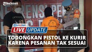 LIVE UPDATE: Viral Todongkan Pistol ke Kurir, Tukang Ojek di Bogor Berakhir Dibui