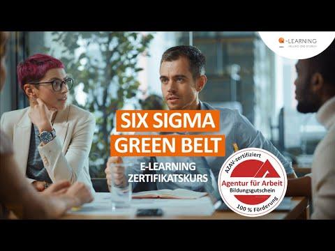 SIX SIGMA Green Belt   Geförderter Online-Kurs   E-Learning mit Bildungsgutschein