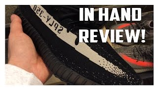 "Yeezy Boost 350 V2 ""Black White"" BY1604 In Hand Review!"