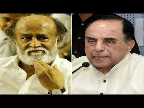 Rajinikanth Has No Future In Politics, Says Subramanian Swamy