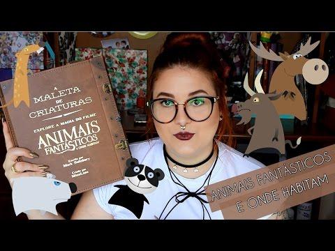 A MALETA DE CRIATURAS | ANIMAIS FANTÁSTICOS