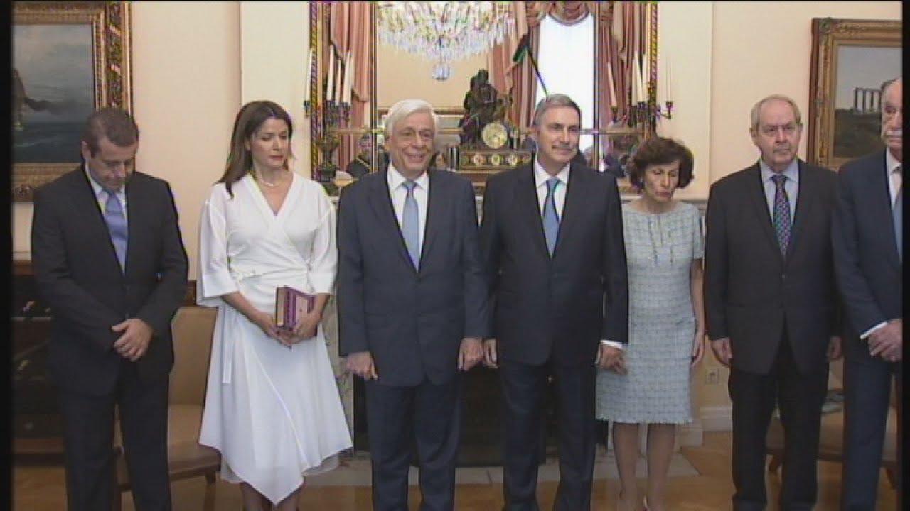 Συνάντηση του Πρ. Παυλόπουλου με στελέχη του Ιδρύματος Ωνάση