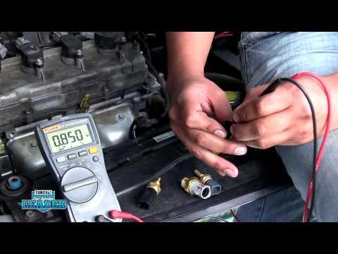 Diagnóstico del sensor de temperatura del refrigerante (sensor CTS) Parte 1
