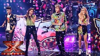 Only The Young sing Michael Jackson's Blame It On The Boogie | Live Week 5 | The X Factor UK