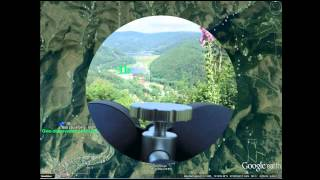 Binocular 20x80  Celestron Skymaster  - eyeview 20x
