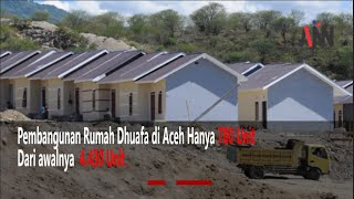 Kesepakatan TAPA dan Banggar, Rumah Dhuafa Tersisa 780 Unit