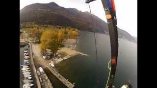 preview picture of video 'Cannobio hike & Fly 18 novembre 2012 - parapendio dai gridoni'