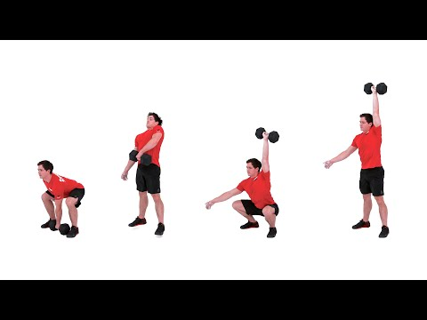 Dumbbell Squat Snatch