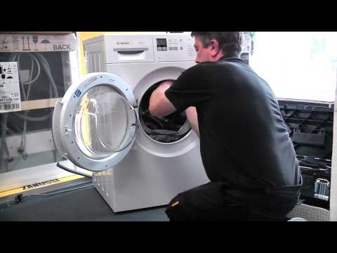 Replacing the Door Seal on a Bosch Washing Machine