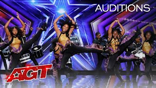 The Divas & Drummers of Compton Inspire With Amazing Moves and Music - America's Got Talent 2020 thumbnail