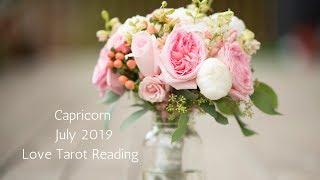 CAPRICORN - WEEKLY LOVE TAROT READING - JULY 1 - 7 2019