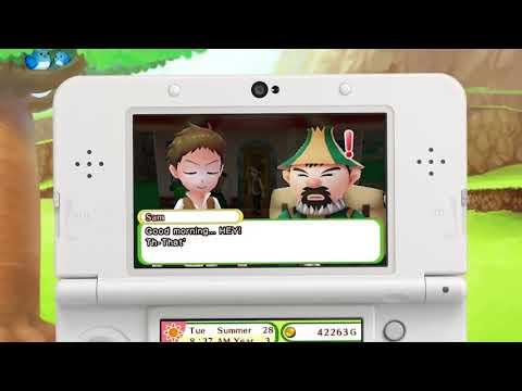 Видео № 0 из игры Harvest Moon: Skytree Village  [3DS]