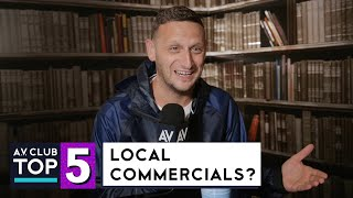 Watch Detroiters' Tim Robinson Attempt To Rank His Top 5 Local Commercials Of All Time