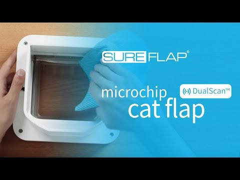 How to clean your SureFlap DualScan Microchip Cat Door