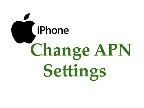 APN Setting for Iphone - смотреть онлайн на Hah Life