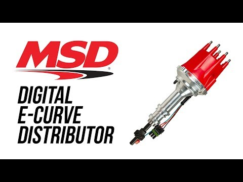 MSD 8394 Chevrolet Digital E-Curve Distributor