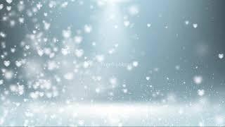 white hearts background video youtube | Abstract White Background HD | white motion background loop