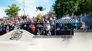 Second Stop of the Vans Pro Cup