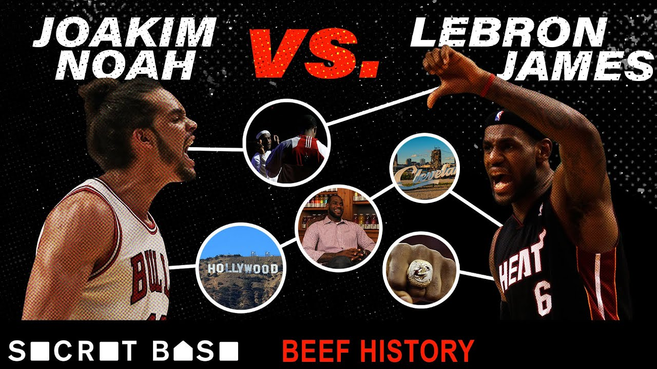 LeBron James attracts many pests, but Joakim Noah might be the best player to ever beef with him thumbnail