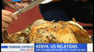 US THANKSGIVING DAY: When KTN News business anchor gets amused by a turkey's taste during live TV
