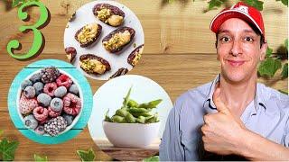 3 Delicious Healthy Snacks