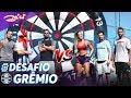 Maicon E Michel Do Grêmio No Desafio Do Alvo Gigante (precisão Nos Chutes!) | Canal Zico 10