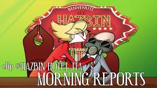 HAZBIN HOTEL CLIP - Morning Reports (Dub Ita)