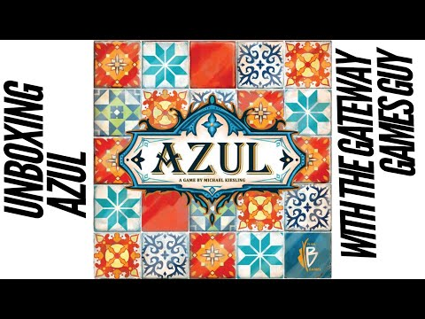 Unboxing of Azul - Next Move Version w/1st Player Tile