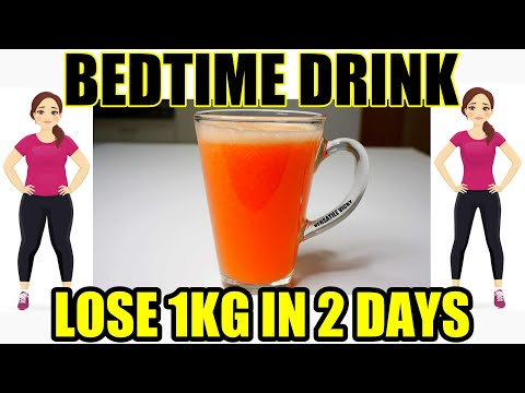 Bedtime Drink To Lose Belly Fat   Lose 1Kg In 2 Days   Bedtime Drink For Weight Loss