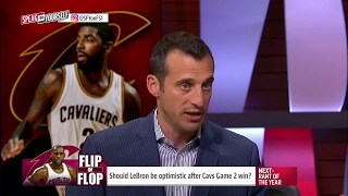 Is LeBron faking his optimism after the Game 2 win over the Pacers? | SPEAK FOR YOURSELF