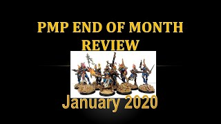 PMP January 2020 End of Month Review