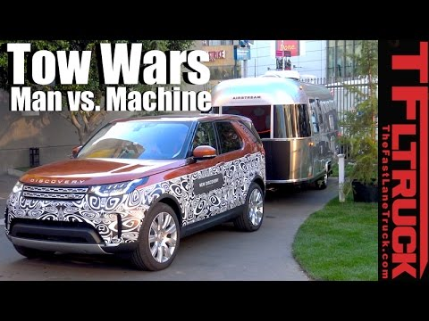 2017 Land Rover Discovery Advanced Tow Assist Team Review