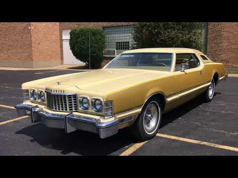 1976 Ford Thunderbird Creme & Gold Luxury Package For Sale