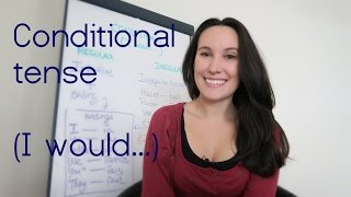Conditional tense in Spanish - plus grid and practice