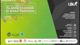 🔴[LIVE] Seminar Online | Mengembangkan Ekonomi Syariah Melalui Melalui Islamic Fashion