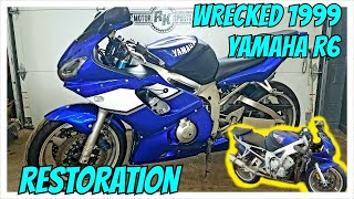 Restoring a WRECKED 1999 Yamaha R6