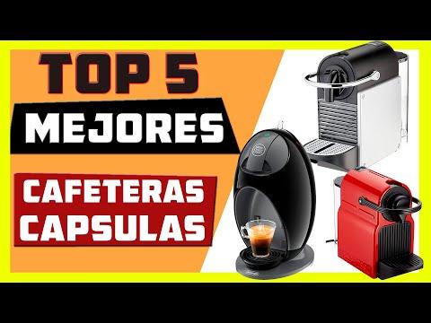 ☕Mejores CAFETERAS de CAPSULAS  [ Top 5  calidad precio ]🔥