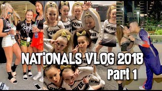 AASCF AUSTRALIAN NATIONALS 2018 | CHEER COMP VLOG | PART 1