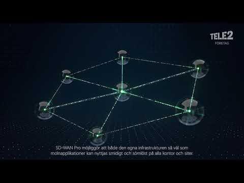 SD-WAN Pro med Tele2 Företag