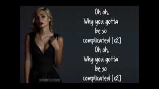Pia Mia - Complicated [Lyrics]