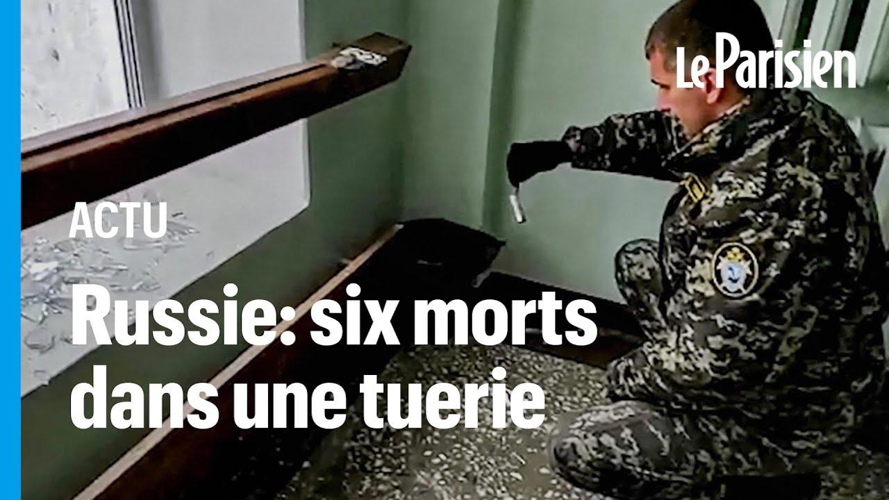 Plusieurs morts dans une tuerie en Russie