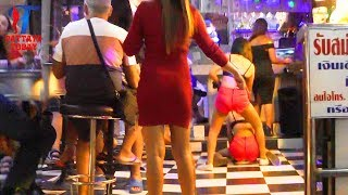Night Walk Along The #Pattaya, December 2017, Vlog 189 [Made In Thailand Street]