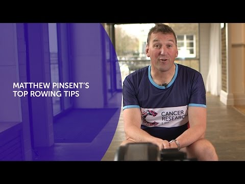 Sir Matthew Pinsent's Top Rowing Tips: The Great Row |Cancer Research UK