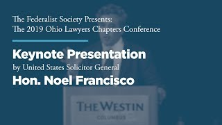 Click to play: Keynote Presentation by Hon. Noel Francisco