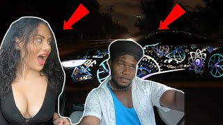 Uber Driver Raps Fast To Hot Girl In A $250,000 Car 😎