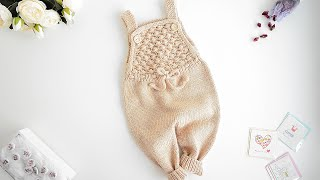 KNITTING PATTERN JUMPSUIT SHELLS For Baby And Child (review)