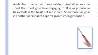 Personalized Sport Groomsmen Gifts