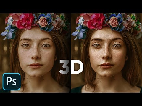 how to use 3d luminosity in portraits using adobe photoshop by piximperfect